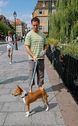 Gambo s páníčkem ve Strasbourgu